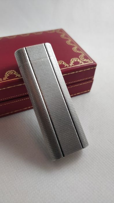 Cartier - Lighter - Silverplated with original box