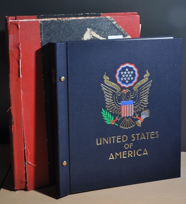 United States of America 1857/1954 - Classics collection in two albums