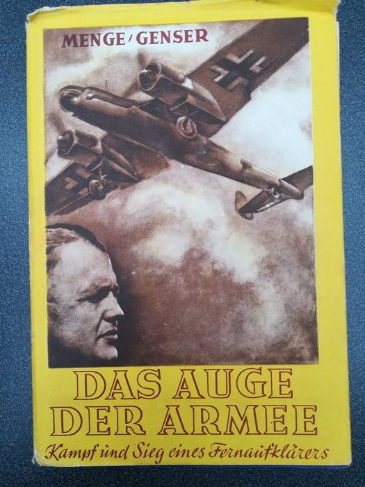 Germany - air force - Book, The eye of the army, long-distance reconnaissance aircraft, 31 panels - 1943