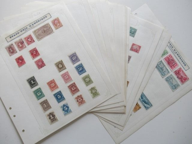 America - From the West Indies to the USA, collection of stamps