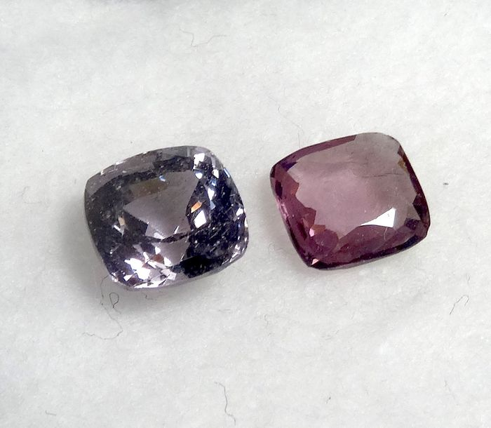 2 pcs  Spinel - 3.01 ct