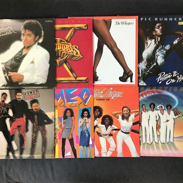 Michael Jackson - Multiple artists - Commodores, Olympic Runners, and others - Funk / Soul Package - LP Album - 1977/1986