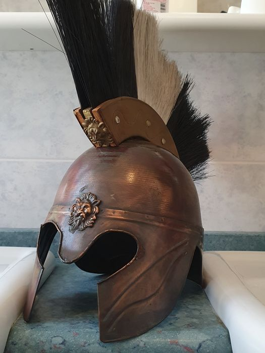Helmet, from a Roman gladiator - Copper