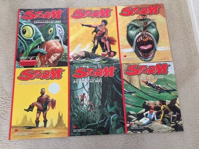 Storm 0 t/m 19 - 20x DLC uitgaven  - Softcover - 1st edition of reissue - (2005/2008)