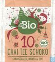 Tea bags and Tea labels - Das gesunde Plus (DM) - 10 Chai Tee Schoko