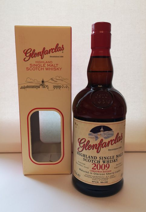 Glenfarclas 2009 Christmas Edition - Original bottling - b. 2019 - 0.7 Ltr