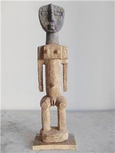 Large Aklama Fetish Statue of the Ada Adan ethnic group. 39cm - Wood - Ghana