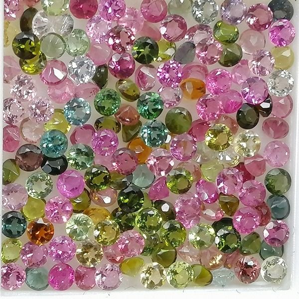 150 pcs  Tourmaline - 6.40 ct