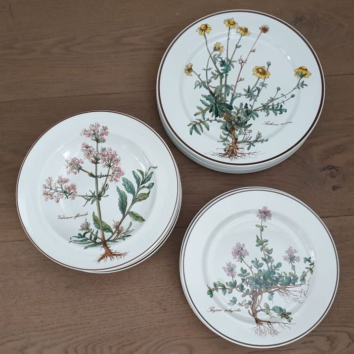 Villeroy & Boch - Botanica - Various service parts - Earthenware