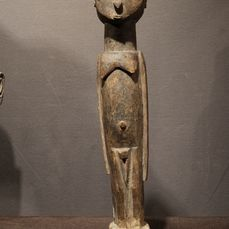Female Figure - Wood - Bateba Thilkotina- Provenance Donald Taitt - Lobi - Burkina Faso