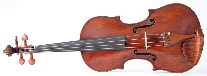 Labeled P. A. Testore - 4/4 - Violin - Italy - 1759