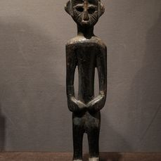 Figure - Wood - Provenance Donald Taitt - Lobi - Ghana
