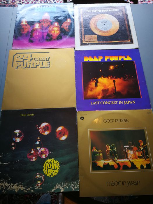 Deep Purple - Multiple titles - Multiple titles - 2xLP Album (double album), LP Album - 1972/1978