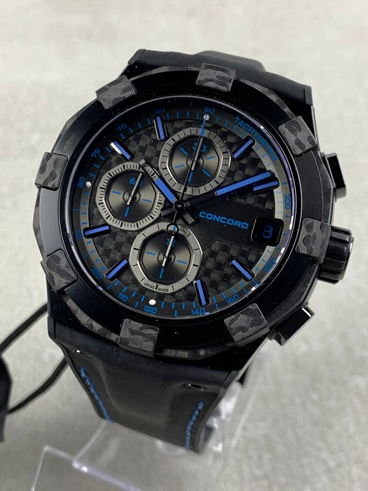 Concord - C1 Titan Chronograph Automatic - 0320288 - Heren - 2011-heden