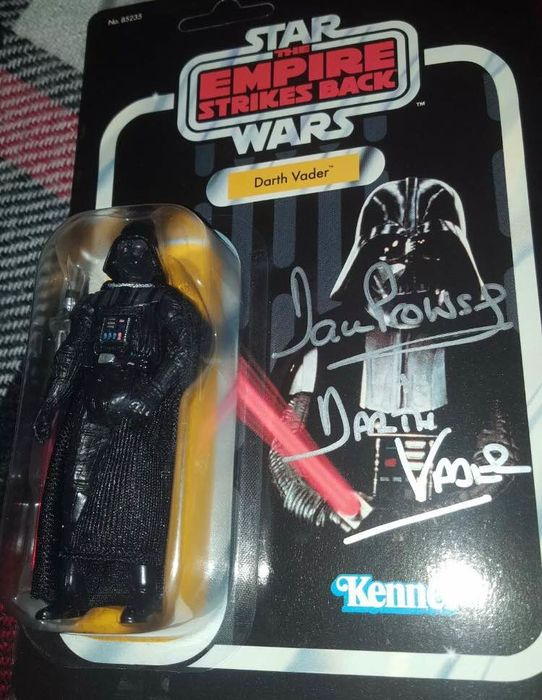 Star Wars - David Prowse - Action figure, Autograph