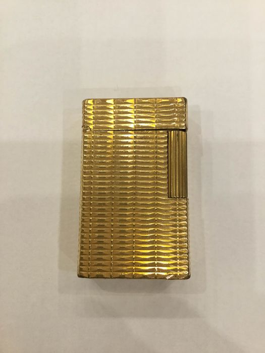 S.T. Dupont Linie 1kl. Gold  - Lighter - Part of 1