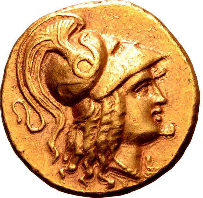 Greece (ancient) - Kingdom of Macedon. AV Stater, Alexander III (336-323 BC). Kition, circa 325-320 BC - Finest of the 5 examples on CoinArchives  - Gold