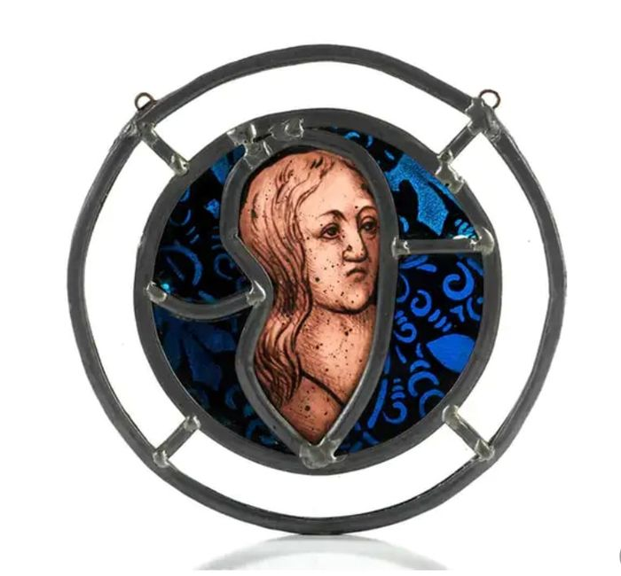 stained glass  - Gothic - Glass (stained glass) - Early 16th century