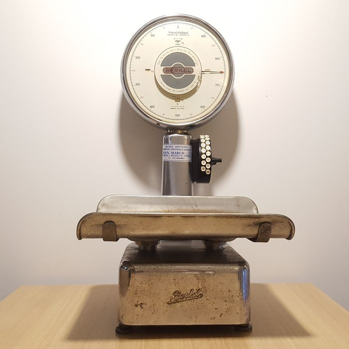 Berkel professional scale - Bronze, Steel
