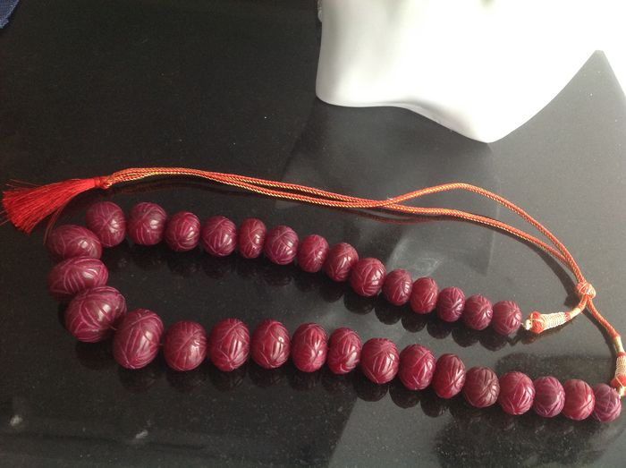 ruby -Necklace - 242 g