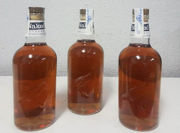 Famous Grouse Naked Grouse - 70 cl - 3 botellas
