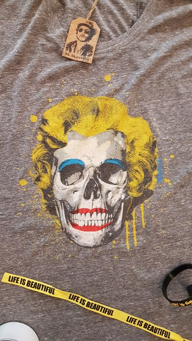 Mr Brainwash - Skull/ Marilyn Monroe