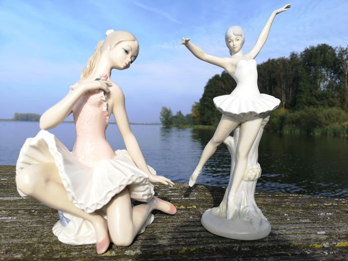Two images - ballerinas (2) - Porcelain