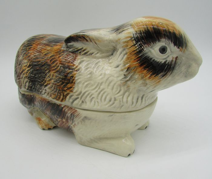 Michel Caugant - rabbit terrine - Earthenware