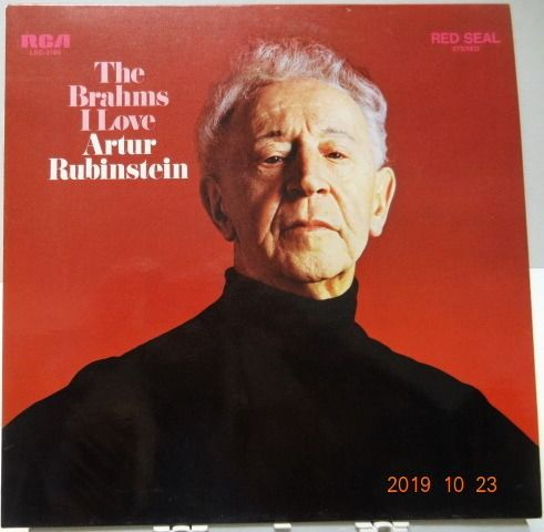Arthur Rubinstein - Multiple artists - Plays mostly Chopin, but also Brahms, Grieg,Rachmaninov, liszt, Schumann, Beethoven and more. - Multiple titles - LP's - 1960/1978