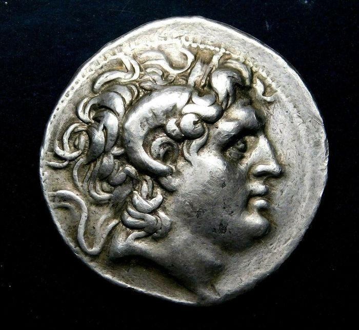 Greece (ancient) - Kings of Thrace. AR Tetradrachm, Lysimachos (360-281 BC) Kyzikos, circa 305-281 BC  - Silver