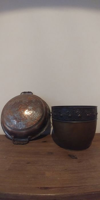 Colander and Cauldron - Copper