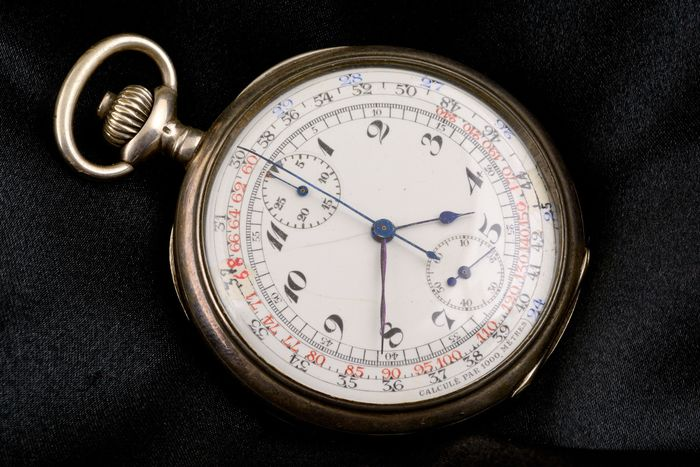 Pocket Watch - Chronograph - Men - 1901-1949