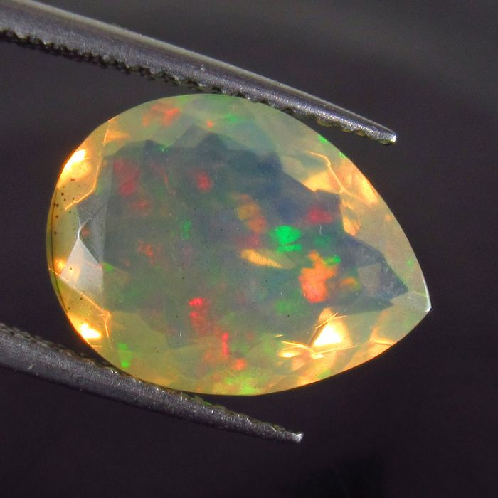 Faceted Opal - 3.40 ct