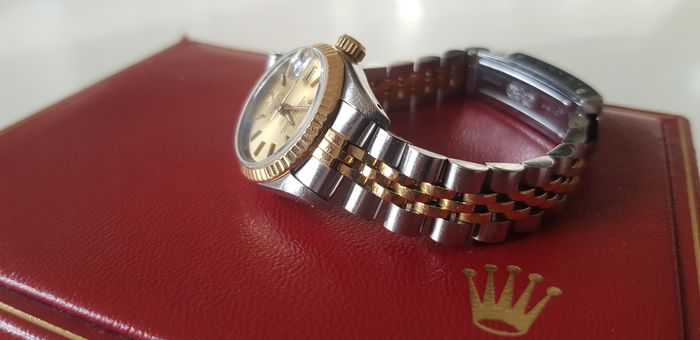 Rolex -Oyster Perpetual Date Just - 69173 - Mujer - 1991