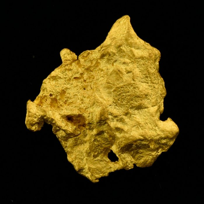 Gold Nugget - 16.5×14.6×4.3 mm - 3.45 g