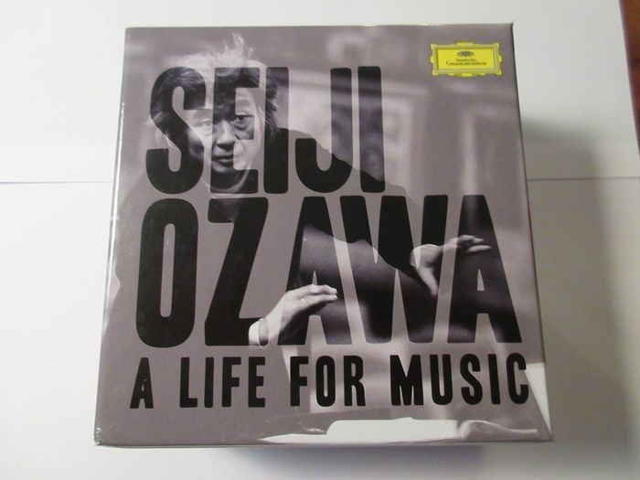 Seiji Ozawa - A life for music (23 cd box) - CD Box set - 2014/2014