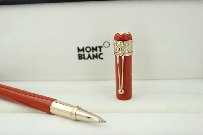 Montblanc - Roller ball - NO RESERVE PRİCE Heritage Collection Rouge et Noir Spider Metamorphosis Special Edition Coral
