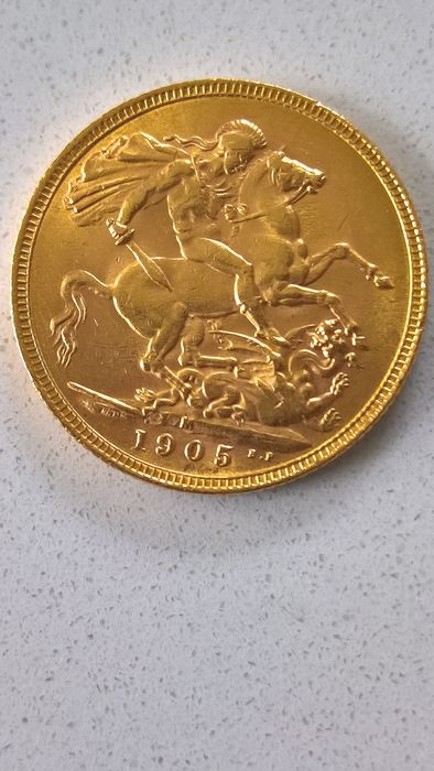 Australia - Sovereign 1905 M Edward VII - OR 22 CARATS