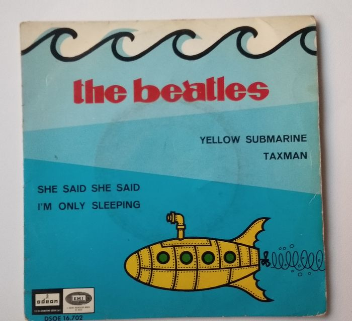 """Beatles - 7 x 45rpm  Ep's and Singles - Multiple titles - 45 rpm Single, EP-10""""inch - 1964/1969"""