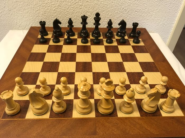 Lardy chess pieces - Wood-Boxwood