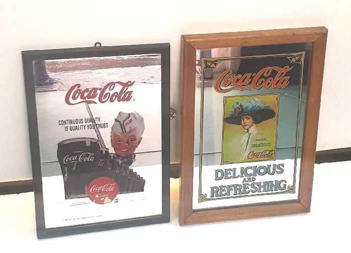 CocaCola - Signs (2) - Glass (stained glass)