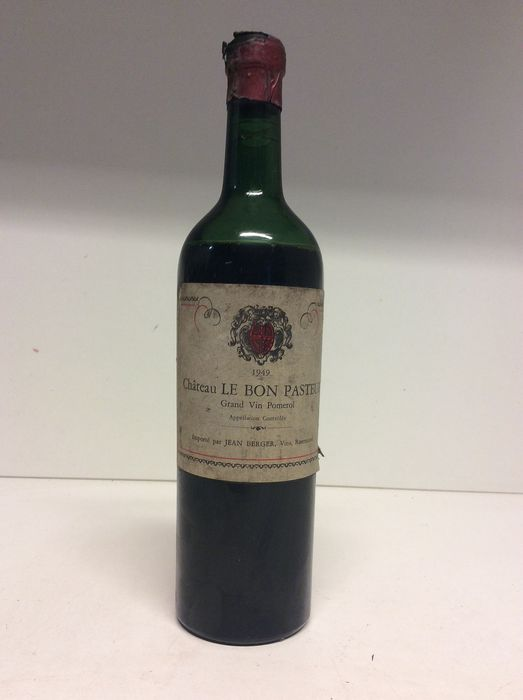 1949  Chateau Le Bon Pasteur (Dutch bottled) - Pomerol - 1 Bottle (0.75L)