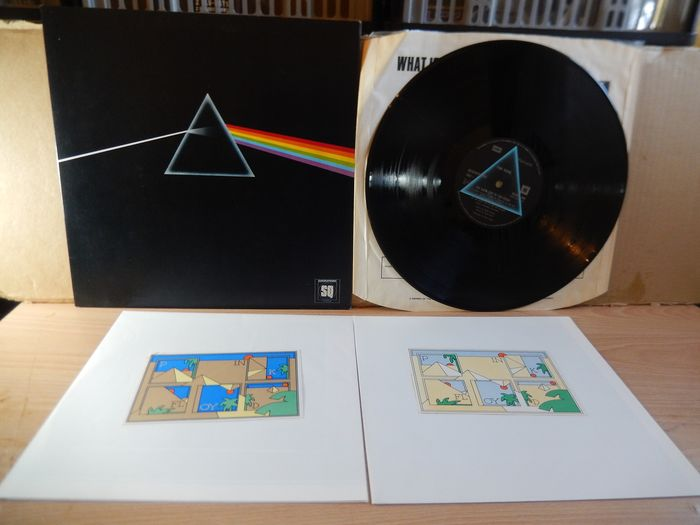 Pink Floyd - Dark Side Of The Moon (Quadraphonic) LP - Limited edition, LP Album - 1973/1973