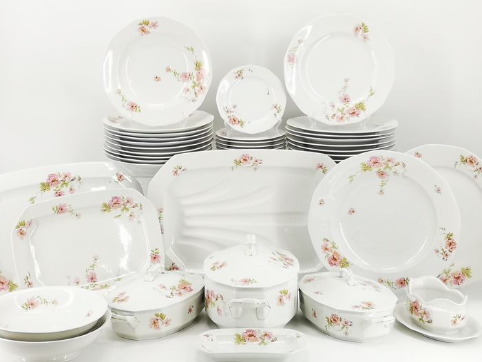Johann Haviland - Dinner service for 10 persons - Art Deco