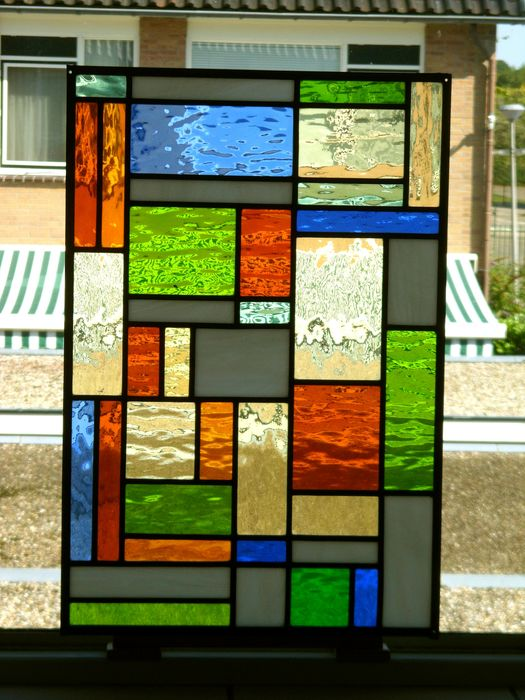 Geometric Pattern - ART DECO - Abstract - Stained glass