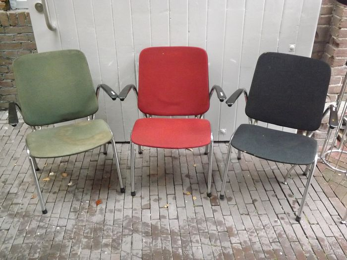 De Wit - Seating group (3) - Bakelite, Linen