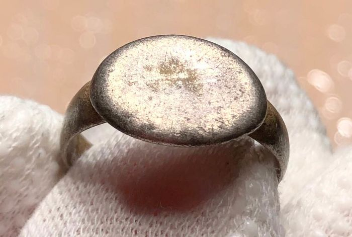 Ancient Roman Silver Excellent Ring.
