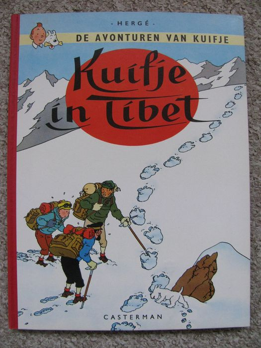 Kuifje 20 - Kuifje in Tibet (A60) - Hardcover - First edition - (1960)