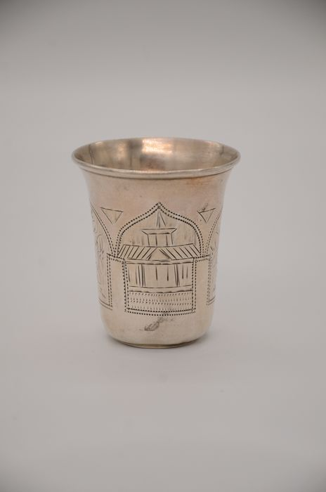 kiddush wine cup - .840 silver
