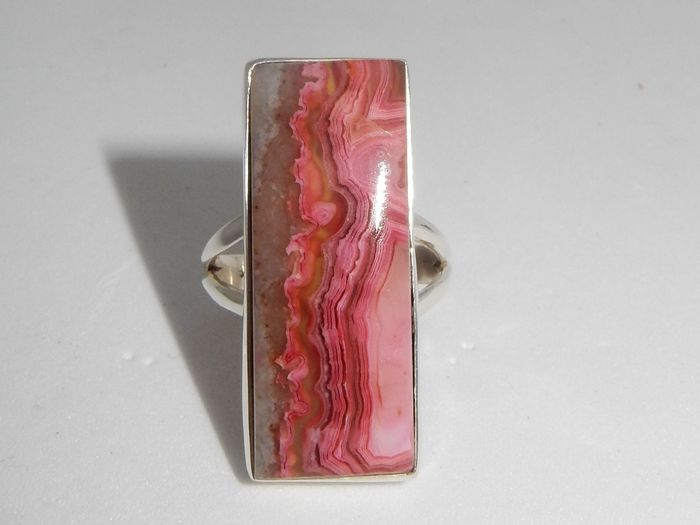 vintage Silver - Ring Laguna Lace Agate